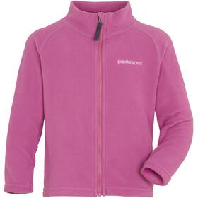 DIDRIKSONS Monte 6 Fuld lynlås jakke Børn, pink
